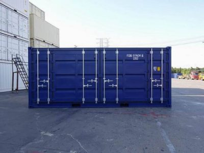 Seecontainer 20' ISO Open